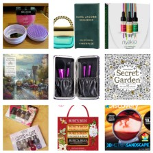 holiday stocking stuffer collage 2017