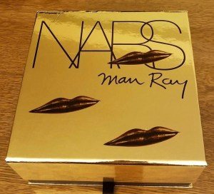 nars for man ray golden box wth lips