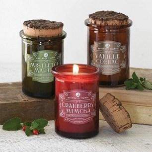 northern lights candles spirit candle jars