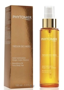 tresor des mers beautifying oil face body and hair