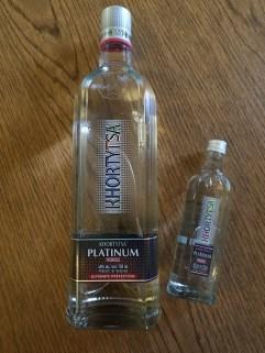 Khortytsa Vodka platinum