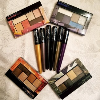 Maybelline city mini palettes and eye liners