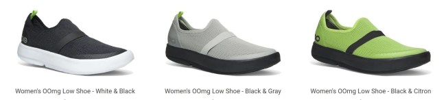 Slip Your Aching Feet into OOFOS