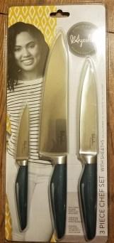 teal handled knife set ayesha curry