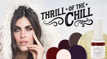 gelish thrill of the chill Winter 2018 collection