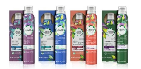 herbal essences conditioners foamy in shower
