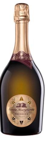 a bottle hot of santa margarita prosecco bottle