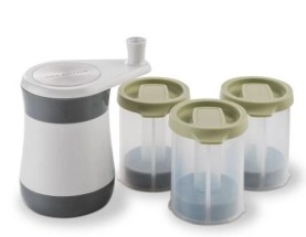 cole & Mason frozen herbs set WITH CONTAINERS