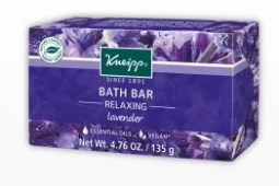 Kneipp lavender bath bar