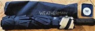 the advice sisters sample stick umbrella from weatherman