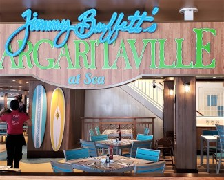 photo by alison blackman jimmy buffets margaaritaville on the NCL Bliss