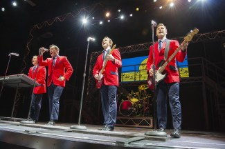 the show jersey boys stock photo NCL BLiss