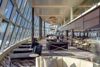 Norweigan Bliss observation lounge