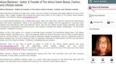 meet the blogger beautypress alison blackman