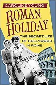 book cover roman holiday by Caroline Young link for amazon