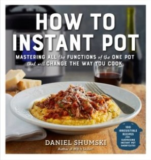 book cover how to instant pot by Daniel Shumski this is a stock photo