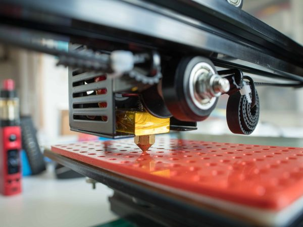 homemade 3D printer to print plastic prototypes