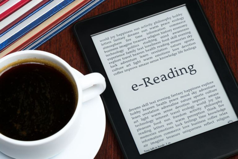 Coffee & ebook