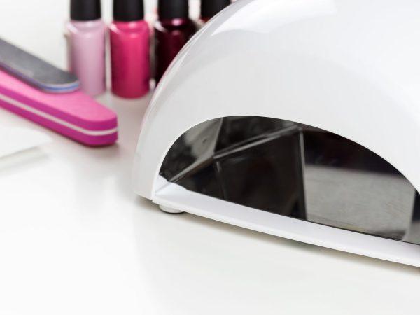 Manicure set for gel nail procedure