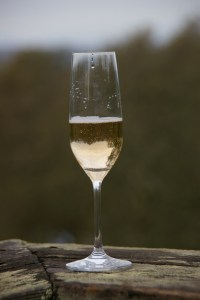 Glass of bubbles