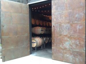Barrels at JM Cellars