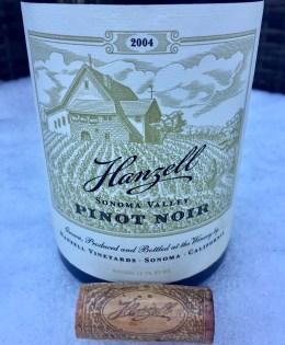 2004 Hanzell Pinot Noir