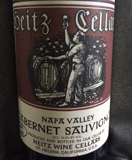 2002 Heitz Cellar Cabernet Sauvignon Martha's Vineyard