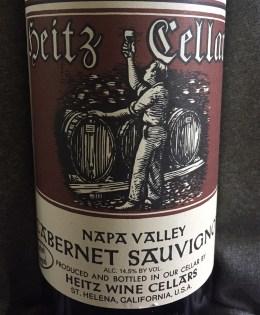 2002 Heitz Cellar Cabernet Sauvignon Martha's Vineyard