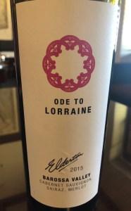 Barossa Valley wine
