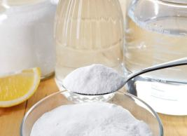 Baking Soda with Salt