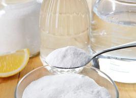 Baking Soda with Salt