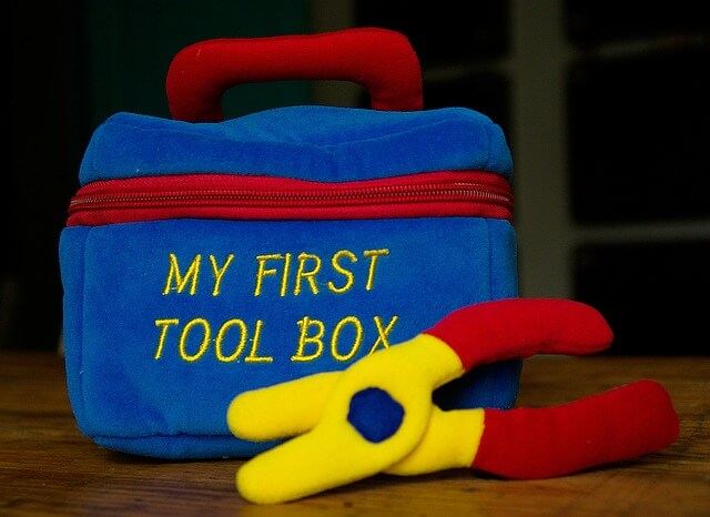 tools box for pregnant mom and neborn baby