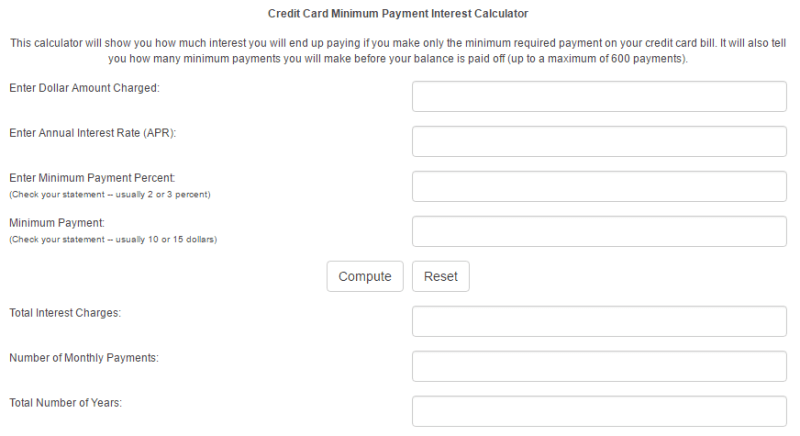 credit card interest rate charge calculator cekharga blog