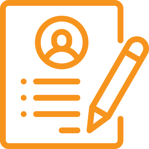 cv writing icon