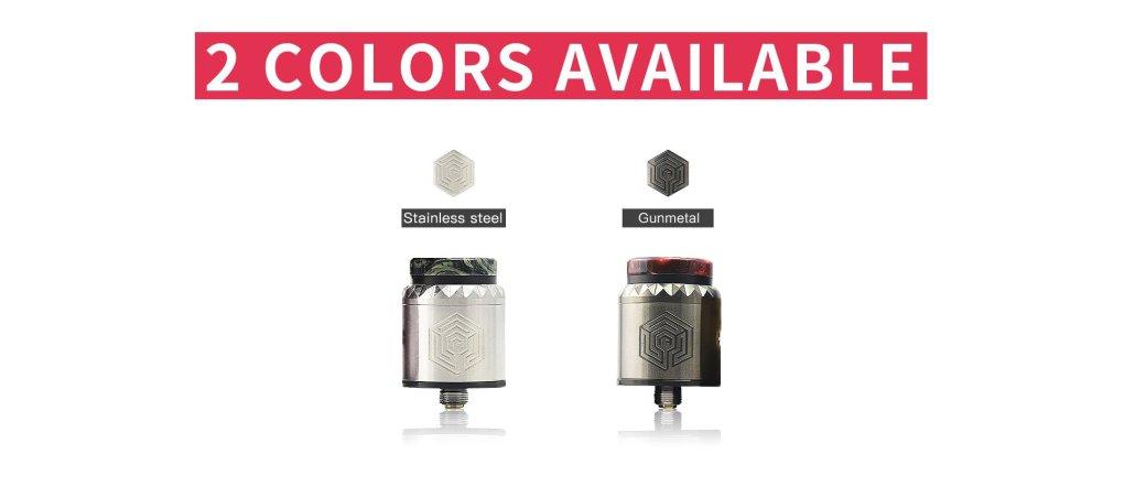 Advken Artha V2 RDA colors