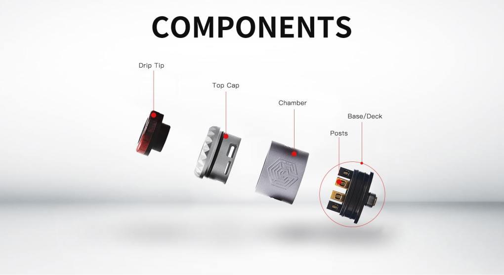 Advken Artha V2 RDA Components