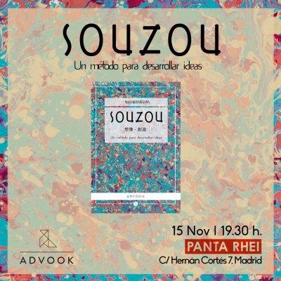 Presentación libro SOUZOU en Panta Rhei Madrid