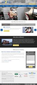 telerep website design
