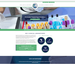 New Website Launch: Bay Clinical Laboratories