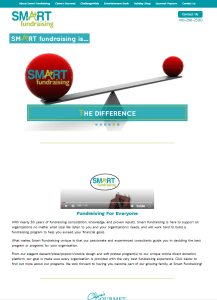 New Website Launch: Smart Fundraising