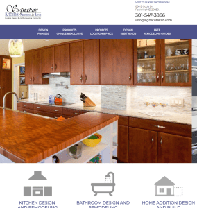 Adventure Web Presents a New Website for Signature Kitchens Additions & Baths