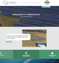 New Website Launch: Earth and Air Technologies