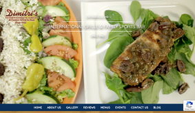 New Website Launch: Dimitri's International Grille & Family Sports Bar