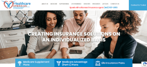 Healthcare American website