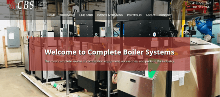Website Launch: Complete Boiler Systems