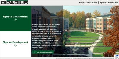 Website Launch: Riparius Construction