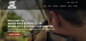 Website Launch: Meade Rifle and Pistol Club