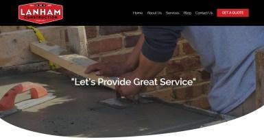 Website Launch: Lanham Construction