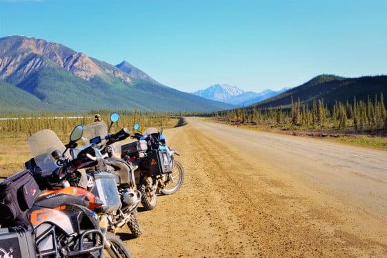 Denali Highway Alaska motorcycle trip