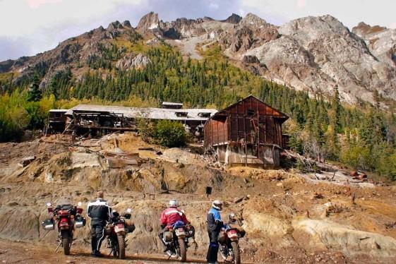 Nabesna Road Alaska Motorcycle Trip